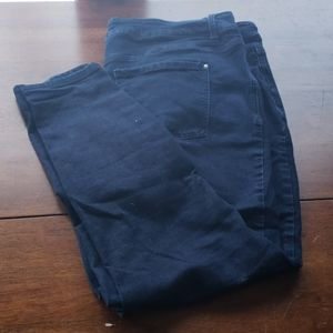 24 maurice's everflex high rise dark denim jeans